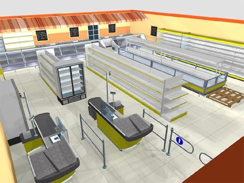 проектирование магазина