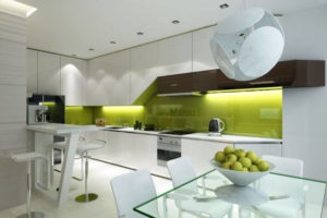 модерн кухня студия