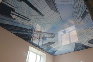 фотопечать натяжной потолок