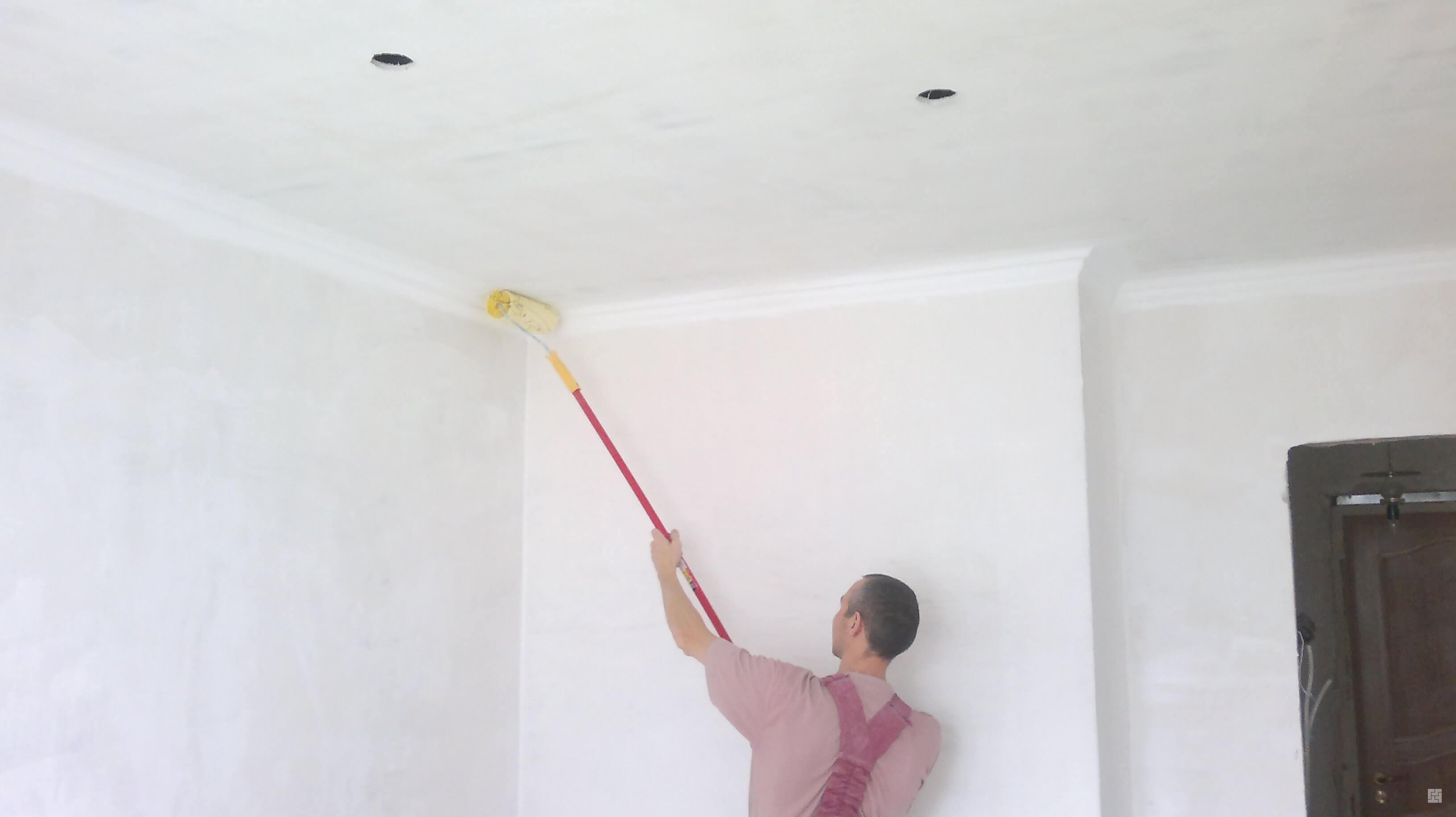 как принять потолок