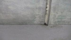 потолок заделка шва