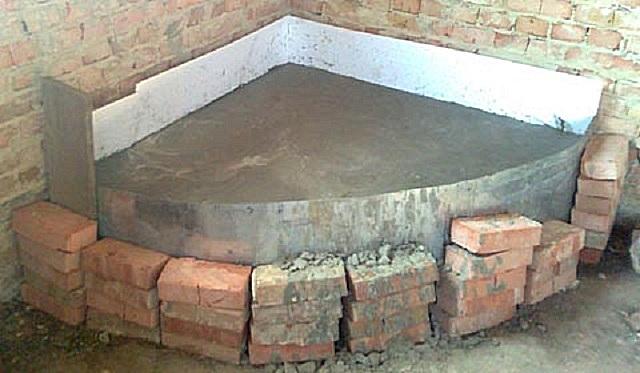строительство-камина