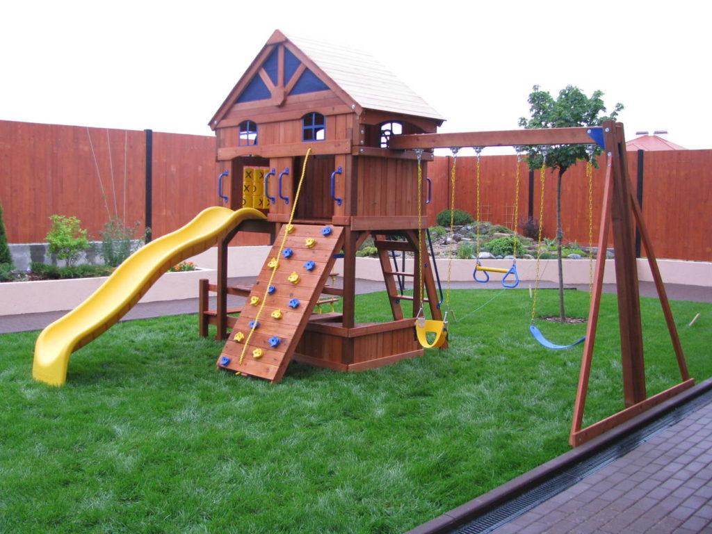 Своими руками для детской площадки на даче